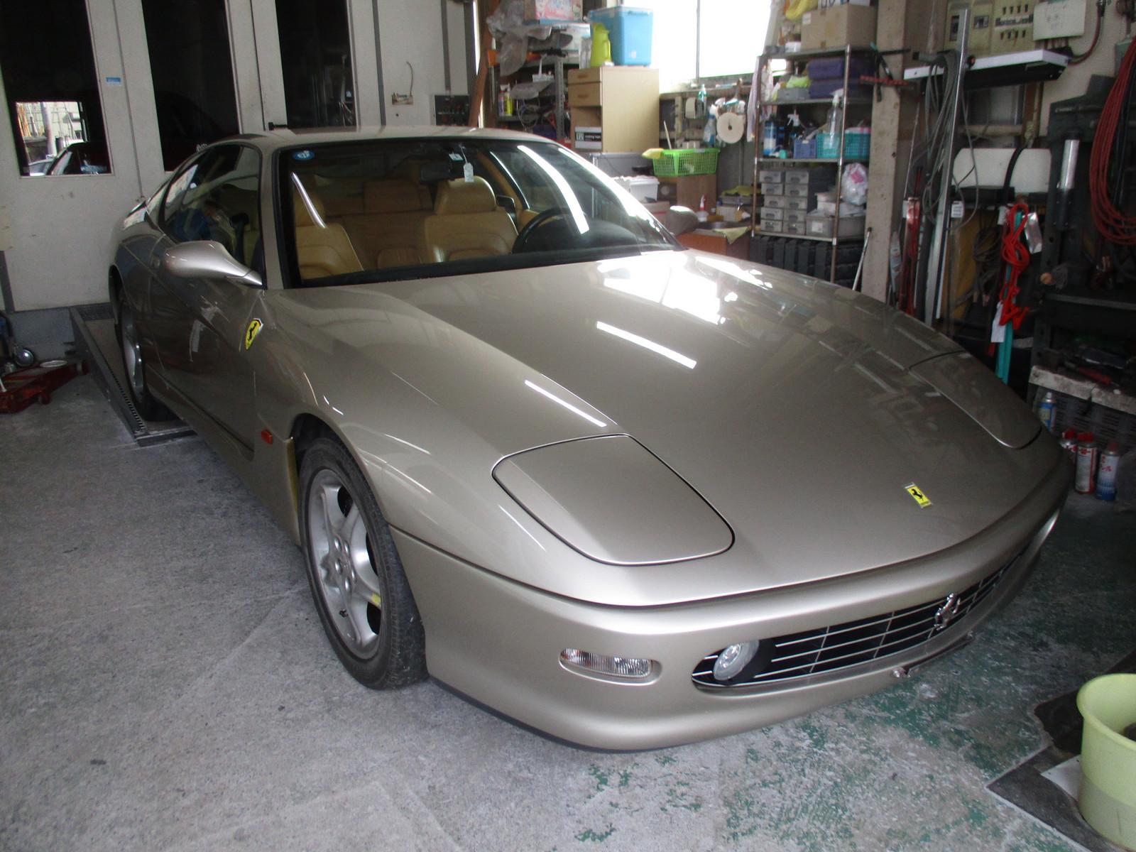 フェラーリ456の修理: 救世主の...